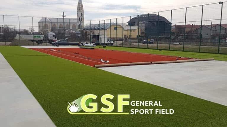 Amenajare teren multisport cu gazon sintetic Adjudeni, Neamț