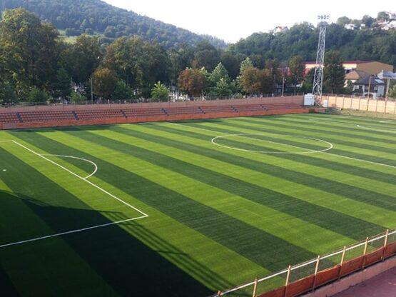 Amenajare teren fotbal FRF Piatra Neamt
