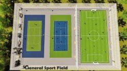 Proiectare teren sport