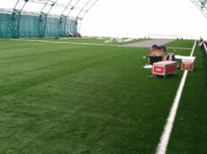 Amenajare teren de fotbal cu gazon artificial