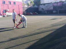 Amenajare teren de fotbal cu gazon artificial Iasi