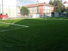 Amenajare teren de fotbal cu gazon sintetic Sibiu