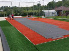 Amenajare teren multisport cu gazon sintetic Moinesti