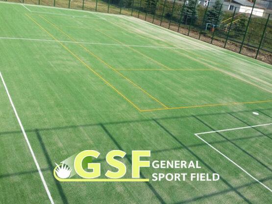 Amenajare teren multisport cu gazon artificial Bacau