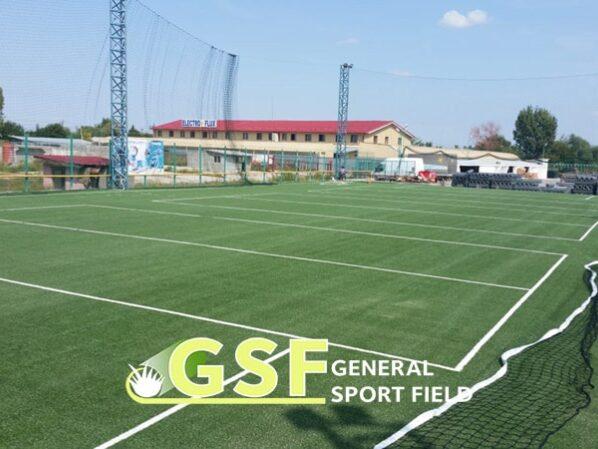 Amenajare teren multisport cu gazon artificial Craiova
