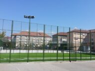Amenajare teren multisport cu gazon artificial Ramnicu Valcea